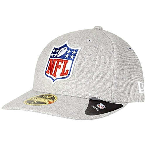 New Era League Logo 59Fifty Low Profile NFL LOGO Grau, Size:7 1/2