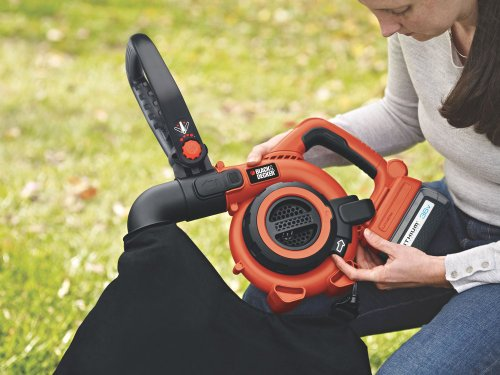 black decker 2in1 akku laubbl ser im test und preis. Black Bedroom Furniture Sets. Home Design Ideas