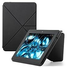 Amazon Origami PU-Hülle mit Standfunktion für Kindle Fire HDX (3. Generation - 2013 Modell), Schwarz