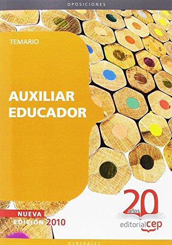 Auxiliar Educador. Temario (Colección 42) por Sin datos