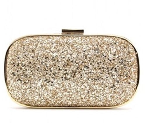 Anya Hindmarch , Damen Clutch gold gold (Hindmarch Clutch Anya)