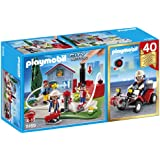 Playmobil 5169 City Action Fire 40th Anniversary Compact Set