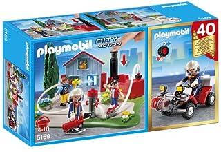 PLAYMOBIL City Action - Compact Set Aniversario: Bomberos y Quad (5169) (B00FJR0IRE) | Amazon price tracker / tracking, Amazon price history charts, Amazon price watches, Amazon price drop alerts