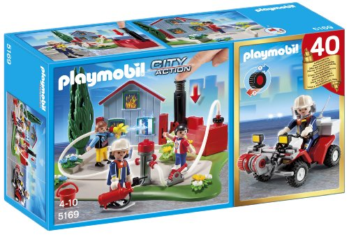 Playmobil City Action - Compact Set Aniversario: Bomberos