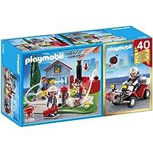 Playmobil City Action - Compact set aniversario: bomberos y quad (5169)
