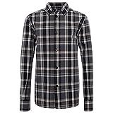 TOM TAILOR für Jungen Blusen, Shirts & Hemden Kariertes Hemd Pure Dark Grey, 140