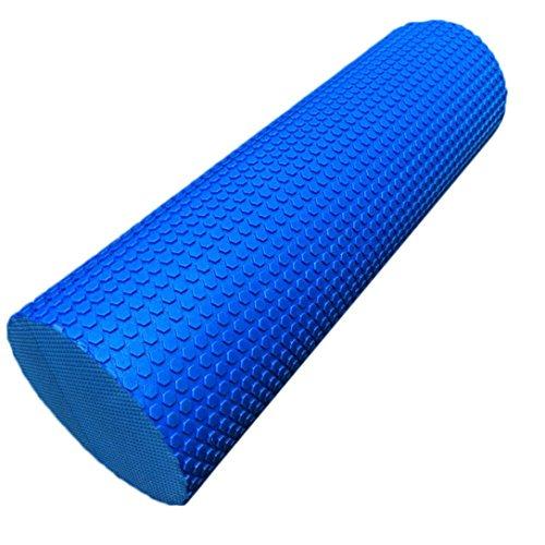 Coolster 45x15cm Yoga Schaum Wedges Pilates Massage Gym Fitness Trigger Point Übung Schaum Roller (Blau) (Top China Womens Tank)