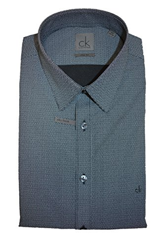 Calvin Klein Herren Slim Fit South Beach Hemd Shadow