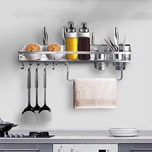 SHtlj Especieros Estantería Cocina Estanterías Aluminio