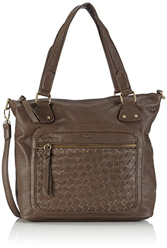 Tamaris CLARE Shopping Bag 1982152-001 Damen Shopper 29x30x8 cm (B x H x T) Braun (Fango)