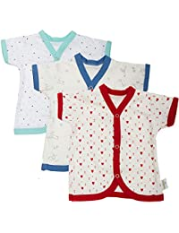 612a71dd6 BAYBEE Cotton Front Open Half Sleeves Printed T-Shirts/Tees Tees - Tshirt -