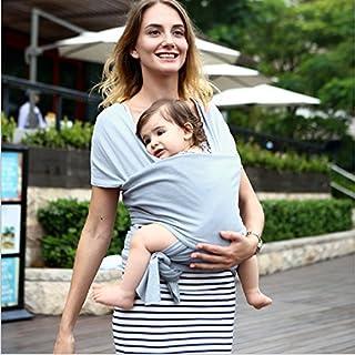 Natural Wrap für Baby, von Geburt bis toddlerm, Geschlecht neutral Sling für Säuglinge, geeignet sowohl für Mami und Papi, weich und bequem, buntes Wickeln