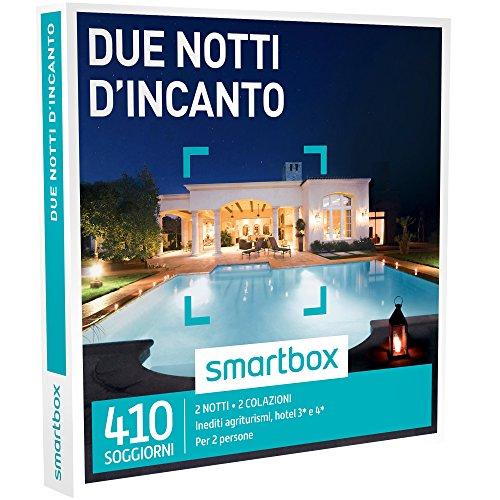 Smartbox - cofanetto regalo - due notti d'incanto - 410 soggiorni in agriturismi, hotel 3* e 4*, dimore e masserie