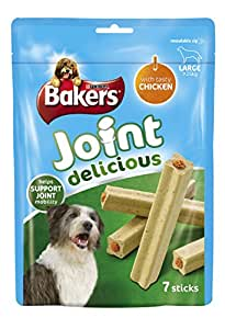 Bakers Joint Large Dog Food Delicious Chicken, 240 g - Pack of 6