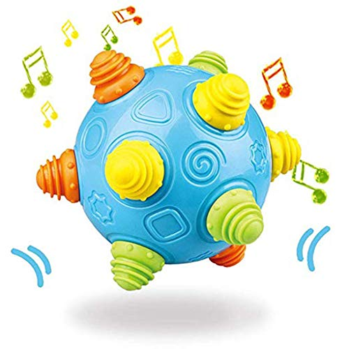 Baby Ball Spielzeug Freunde-Ball mit Musik Shake Kostenlos Bouncing Sensory Development Ball by Vovotrade (Mehrfarbig)