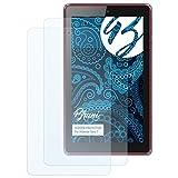 Bruni Schutzfolie kompatibel mit Hisense Sero 7 Folie, glasklare Bildschirmschutzfolie (2X)