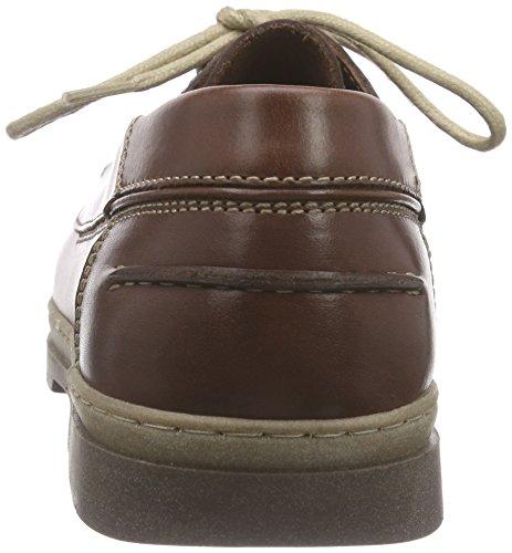 Camel Active Portbay 11, Chaussures bateau homme Marron - Braun (mahagony)