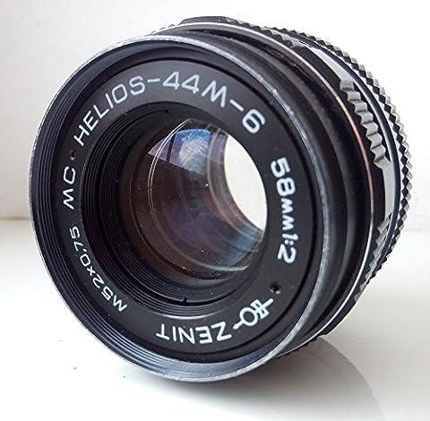Helios 44 2 - MC Helios 44M-658/2Russe SLR Objectif M42pour