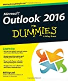 Outlook 2016 For Dummies [Lingua inglese]