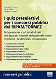 I quiz preselettivi per i concorsi pubblici del ripam/formez