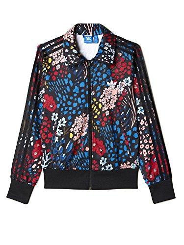 adidas Firebird TT W veste noir bleu rouge