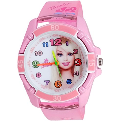 Super Drool SD0155_WT_PINKBB  Analog Watch For Girls