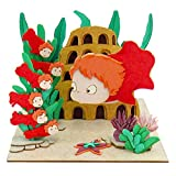Studio Ghibli mini Ponyo Ponyo and sisters MP07-37 non-scale paper craft