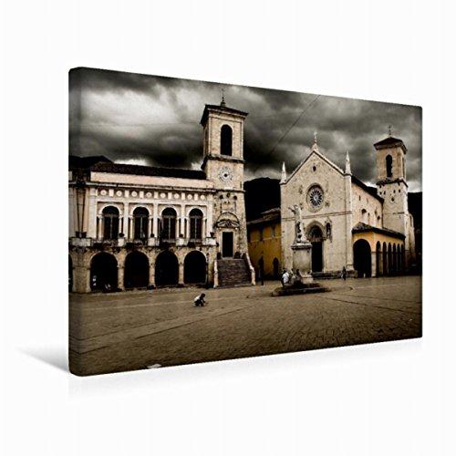 premium-textil-leinwand-45-cm-x-30-cm-quer-norcia-basilica-di-san-benedetto-wandbild-bild-auf-keilra