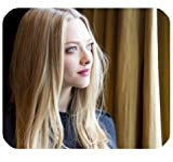 Amanda Seyfried Mousepad Personalized Custom Mouse Pad Oblong Shaped In 9.84
