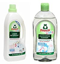 Baby Multi Combo Pack (Liquid Detergent Baby Clothes-1500ml & Baby Multi purpose Cleaner-500ml)