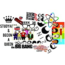 Elton 3M Vinyl Sticker Pack [10-Pcs], Lovely 3M Vinyl Big Bang- 1 Stickers For PS4 Laptop, Cars, Motorcycle. X Box One . Guitar Bicycle, Skateboard, Luggage - Waterproof Random Sticker Pack