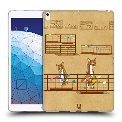 Head Case Designs Fiore Partitur Soft Gel Hülle für iPad Air (2019)
