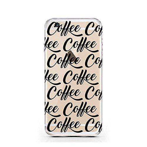 """licaso® Hülle für iPhone 6 6S 4,7"""" TPU Love Life iPhone 6 Case transparent Sketch klare Schutzhülle iphone6 Tasche Liebe für immer Unendlichkeit Infinity iPhone 6 Hülle Comic Hülle Cases (Love Life) Coffee"""