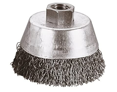 Wolfcraft 2702000 Stainless Steel Wire Cup Crimped M 14 Thread 65 by Wolfcraft