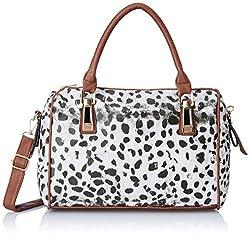 Femme Fatale Women's Handbag (Animal Print) (FFBASS1528)