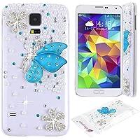 Samsung galaxy S5 Cover Rosa Schleife Elegante