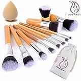 Start Makers 11 unidades Lote de Brochas y Pinceles de Maquillaje con...