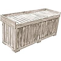 Auflagenbox Gartenbox Garten Truhe NOPT Holzbox 122,5 x 41,5 x 56cm Kiefer preisvergleich bei kinderzimmerdekopreise.eu