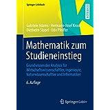Mathematik zum Studieneinstieg (Springer-Lehrbuch)