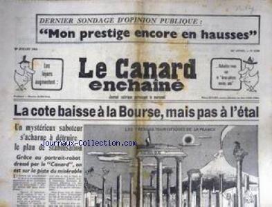 CANARD ENCHAINE (LE) [No 2280] du 01/07/...