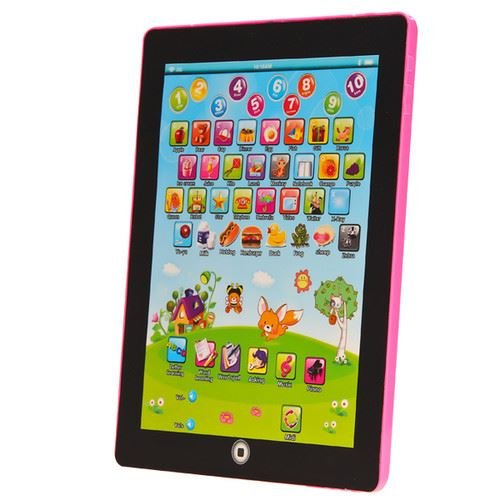 my-first-tablet-kids-childrens-laptop-touch-type-learning-computer-educational-toy-game-pink