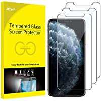 JETech Screen Protector for iPhone 11 Pro, iPhone Xs and iPhone X 5.8-Inch, Case Friendly, Tempered Glass Film, 3-Pack
