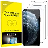 "JETech Film de Protection d'écran pour iPhone 11 Pro, iPhone XS et iPhone X 5,8"" en Verre Trempé, Lot de 3"