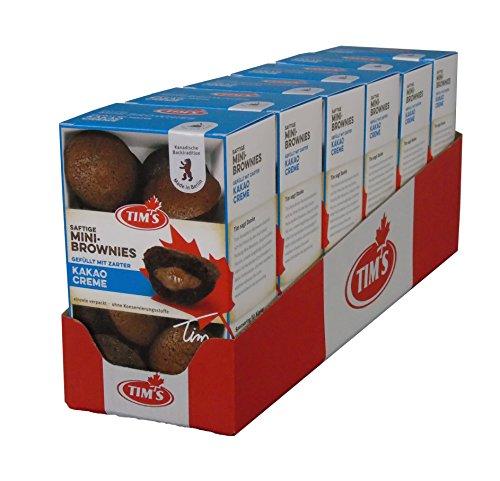 Tims Mini Brownies gefüllt mit Kakaocreme Schokolade Kolli (6x200g) Schokolade Kanada