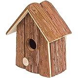 Gardigo - Nido per Uccelli; Casetta, Nido per Uccellini, Uccelli Selvatici in Legno, da esterno; Decorazione Giardino, Terrazza o Balcone