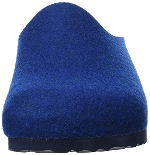 Birkenstock Amsterdam Wollfilz, Sabots Mixte Adulte Bleu (Navy)