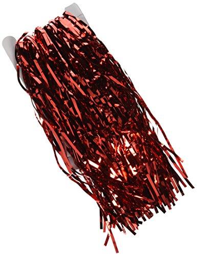 3'x 8' Rot Lametta Folie Fransen Tür Fenster Vorhang Party Dekoration ()