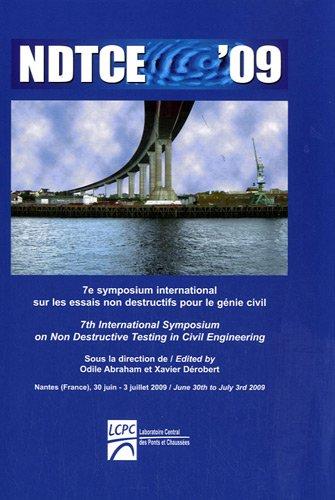 NDTCE '09 : 7e symposium international sur les essais non destructifs pour le génie civil