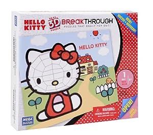 Mega Bloks 50708 - Mega 3D Puzzle Hello Kitty 1