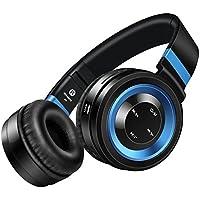 picun P6 auricular inalámbrico de auriculares bluetooth 4.0 estéreo - Nueva Generación, cancelación de ruido On-Ear Hi-Fi para Smartphones (iPhone/Samsung)/portátiles/iPad y más dispositivos con Bluetooth con soporte de tarjeta TF Micro, control de volumen en línea, y función de radio fm
